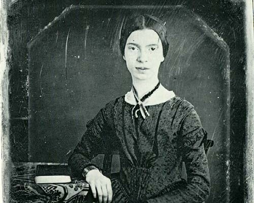 An analysis of emily dickinson who rose to her requirement