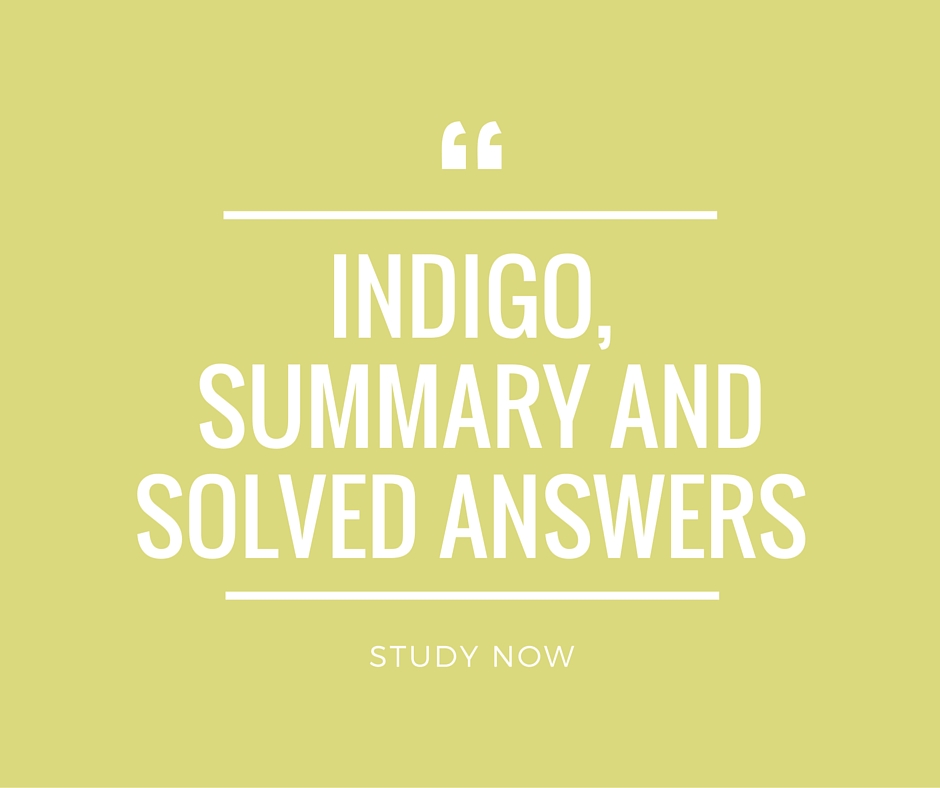indigo louis fischer What is the summary of the chapter indigo by louis fischer this story portraits gandhi's struggle for the poor peasants of champaran a sharecropper named rajkumar shukla compelled him to .