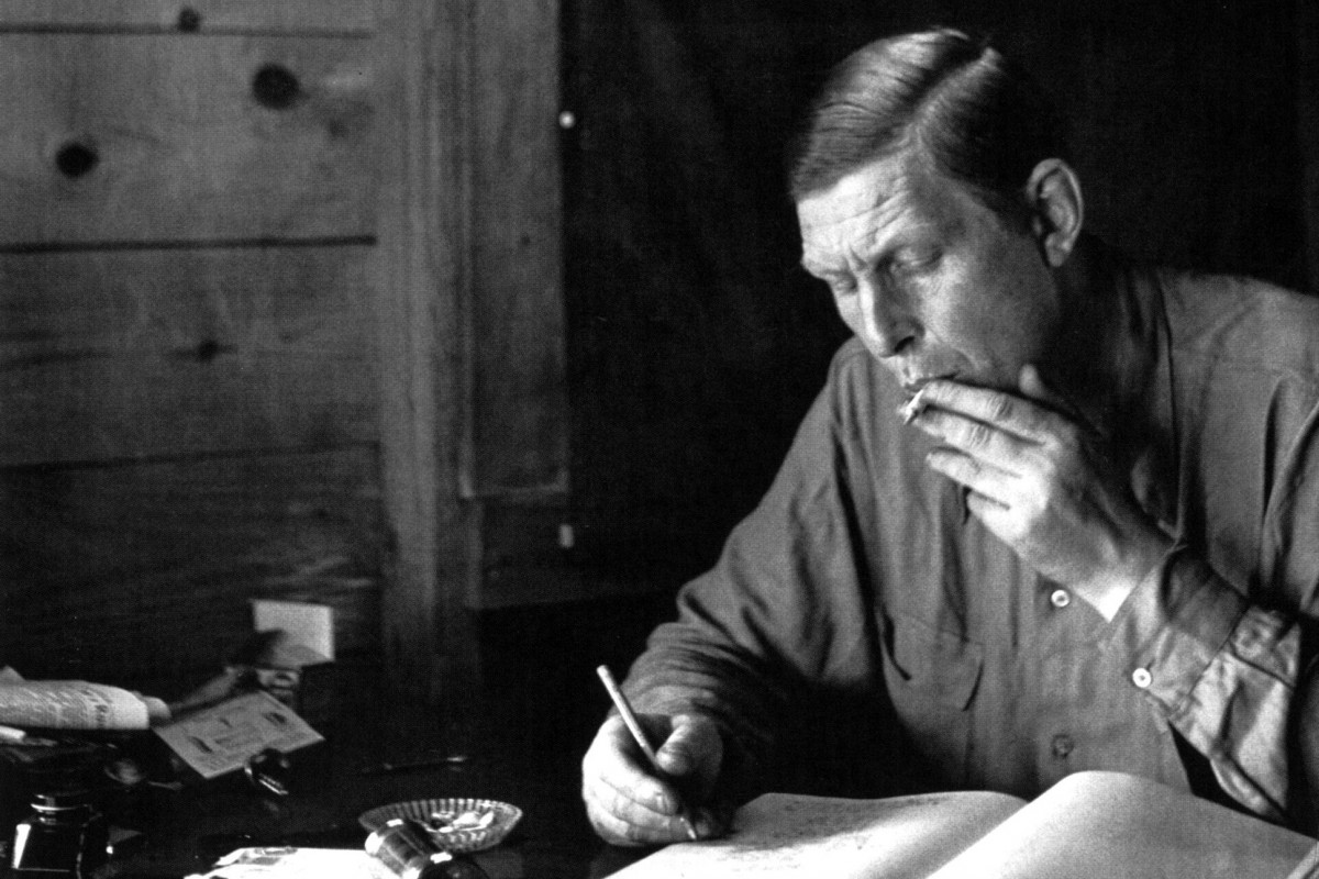 examining w h auden and the W h auden, fire island, 1946 i learned about it mostly by chance, so it may have been far more extensive than i or anyone ever knew once at a party i met a woman who belonged to the same episcopal church that auden attended in the 1950s, st mark's in-the-bowery in new york.