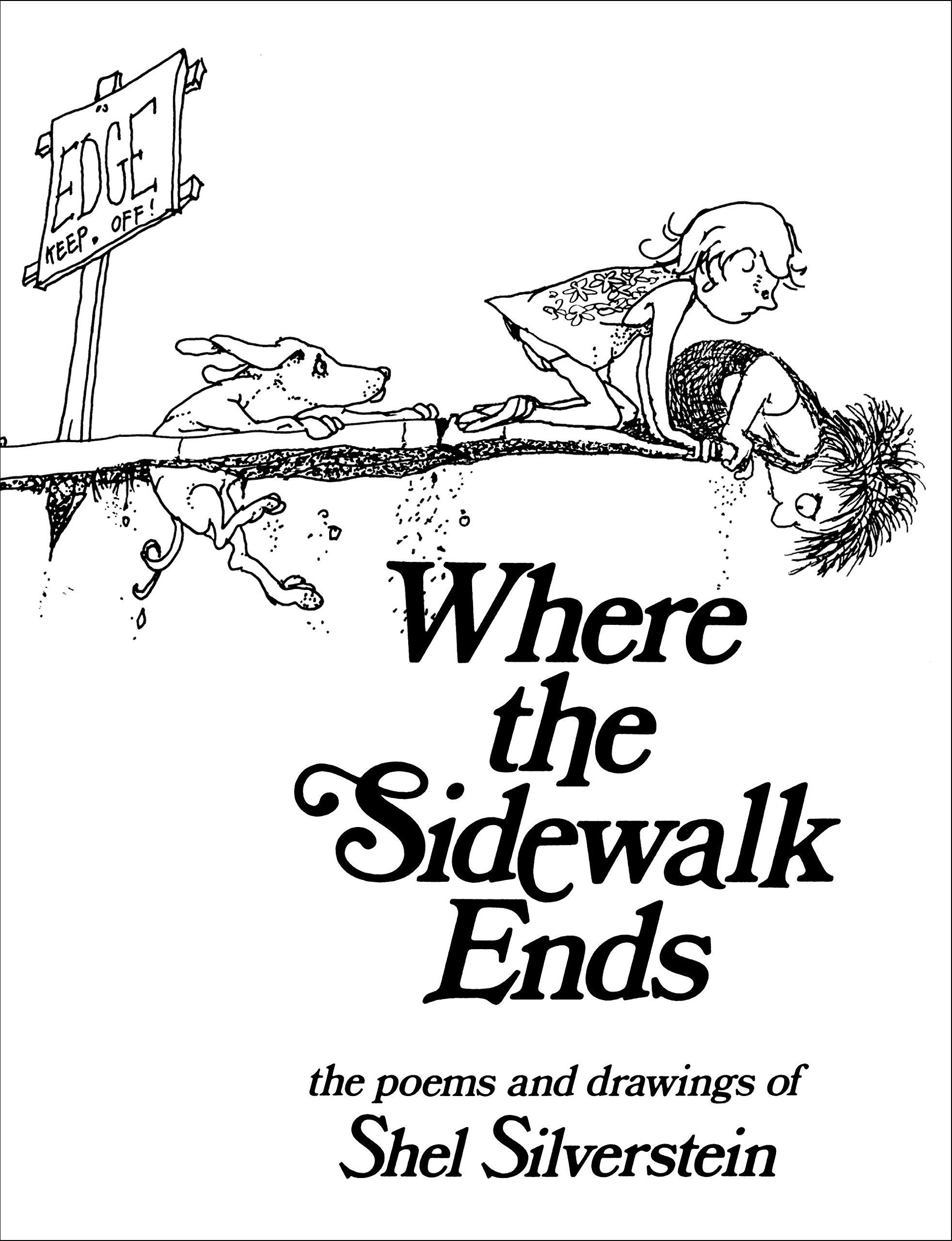 Shel Silverstein Where The Sidewalk Ends Pdf