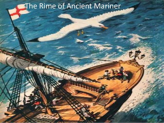 Symbolism rime ancient mariner